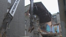 Work to demolish the former Odeon Cinema in Newcastle is underway.