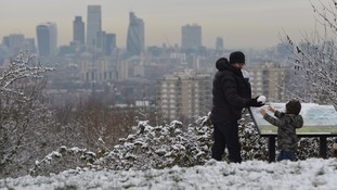 Britain braced for big chill and snow showers