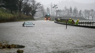 Grasmere was badly flooded during Storm Desmond