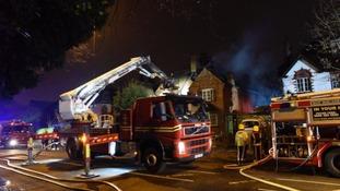 Man dies in severe building fire in Birmingham