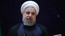President Hassan Rouhani.