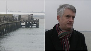 James Cartlidge is supporting the campaign to save Shotley pier.
