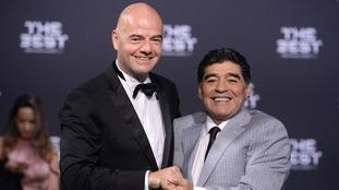 Maradona lands new role with Fifa