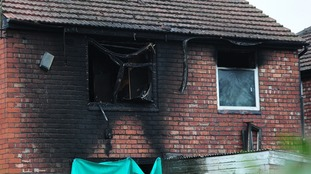 The blaze killed two people, and put five in hospital
