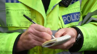 A616 closed both directions due to serious collision
