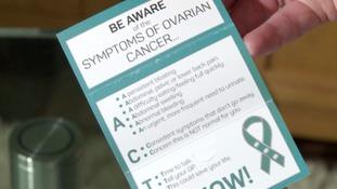 Gill's designed handy handbag-friendly cards listing the symptoms.