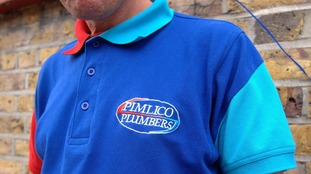 Pimlico Plumbers polo shirt uniform