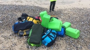 £50 million worth of cocaine found washed up on two Norfolk beaches