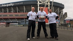 These men walked from Twickenham to the Principality Stadium to raise money for Help For Heroes