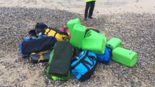 £50m of cocaine washes up on two Norfolk beaches
