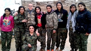 Blackburn woman first to go to Syria to fight IS
