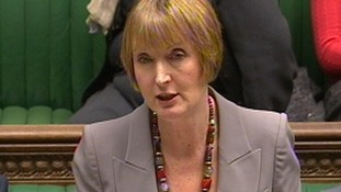 Deputy Labour Leader Harriet Harman in the Commons