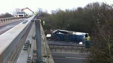 The crash happened on Wednesday.