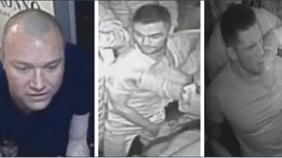 Police want to trace these men after 'large-scale fight'