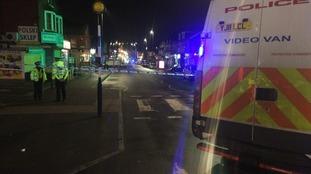 Police presence in Harehills