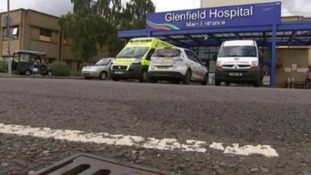 People are being warned to expect delays on the road because of a protest march in aid of Glenfield Hospital's childrens' heart unit