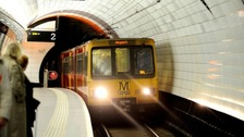 The project will replace a 3.8km section of Metro line
