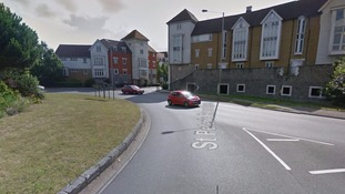 The incident happened in Canterbury on Friday afternoon.