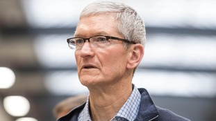 Tim Cook has warned about 'fake news'