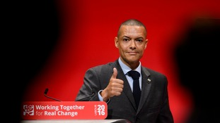Clive Lewis said he was working to support Jeremy Corbyn from the back benches.