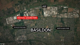 The fight happened at the Festival Leisure Park retail centre.