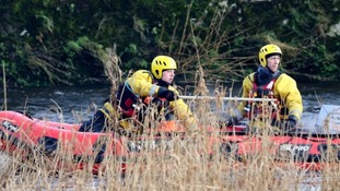 Police have spent the past week searching the River Nith.
