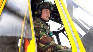 Prince William RAF