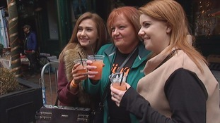Gingers turned out in large numbers to celebrate in Belfast on Saturday.