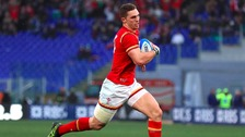 George North won't feature against England.