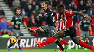 Premier League match report: Sunderland 0-4 Southampton