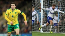 Jonny Howson (left) and Emyr Huws (right) were both on the scoresheet today.