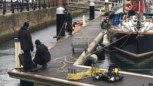 Hartlepool marina search for missing man