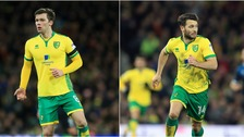Jonny Howson (left) and Wes Hoolahan (right) both scored spectacular goals against Nottingham Forest.