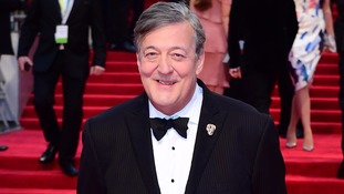 Stephen Fry is hosting the ceremony.