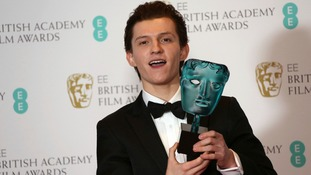 The EE Rising Star award went to Tom Holland.