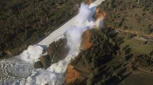Thousands evacuated over fears America's tallest dam could burst