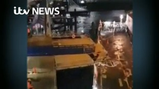Isle of Man ferry crashes into pier in Douglas