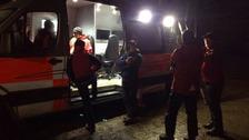 Mountain Rescue Team members