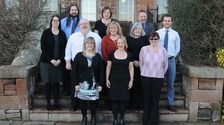 Cumbria Police's finance team