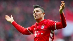 Lewandowski: Arsenal a 'big challenge' for Bayern