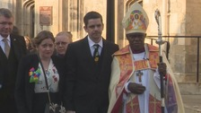 Dr John Sentamu led the service for Katie Rough.