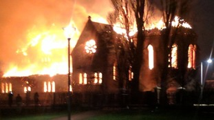 Police release footage of Salford Church fire suspect