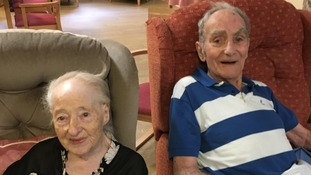Still together: Barbara and Tom Earnshaw