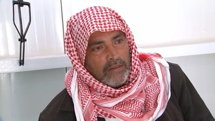 Kassim lost his leg to a Second World War II landmine in 1991