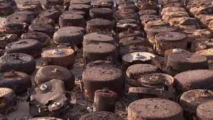 Landmines left over from the battle of El Alamein continue to cause havoc