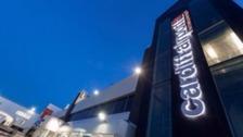 Exterior Cardiff Airport