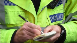 Two serving police officers have been arrested in drugs raids