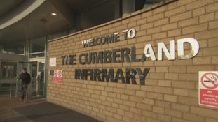 Cumbrian hospitals' performance above national average