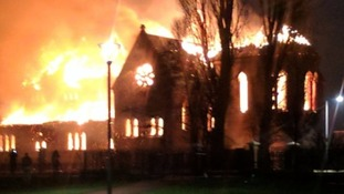 Church fire: Community in desperate fundraising bid