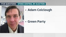 Adam Colclough from Green Party says his favourite place in Stoke is the 'village' of Penkhull.